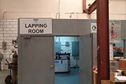 Lapping Machine and room